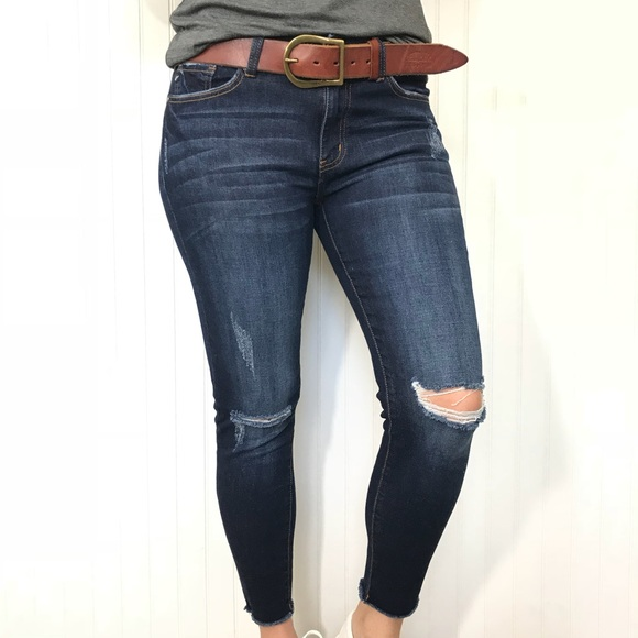 8d06ddd3be5 Kan Can Jeans | Distressed Super Skinny Ankle | Poshmark